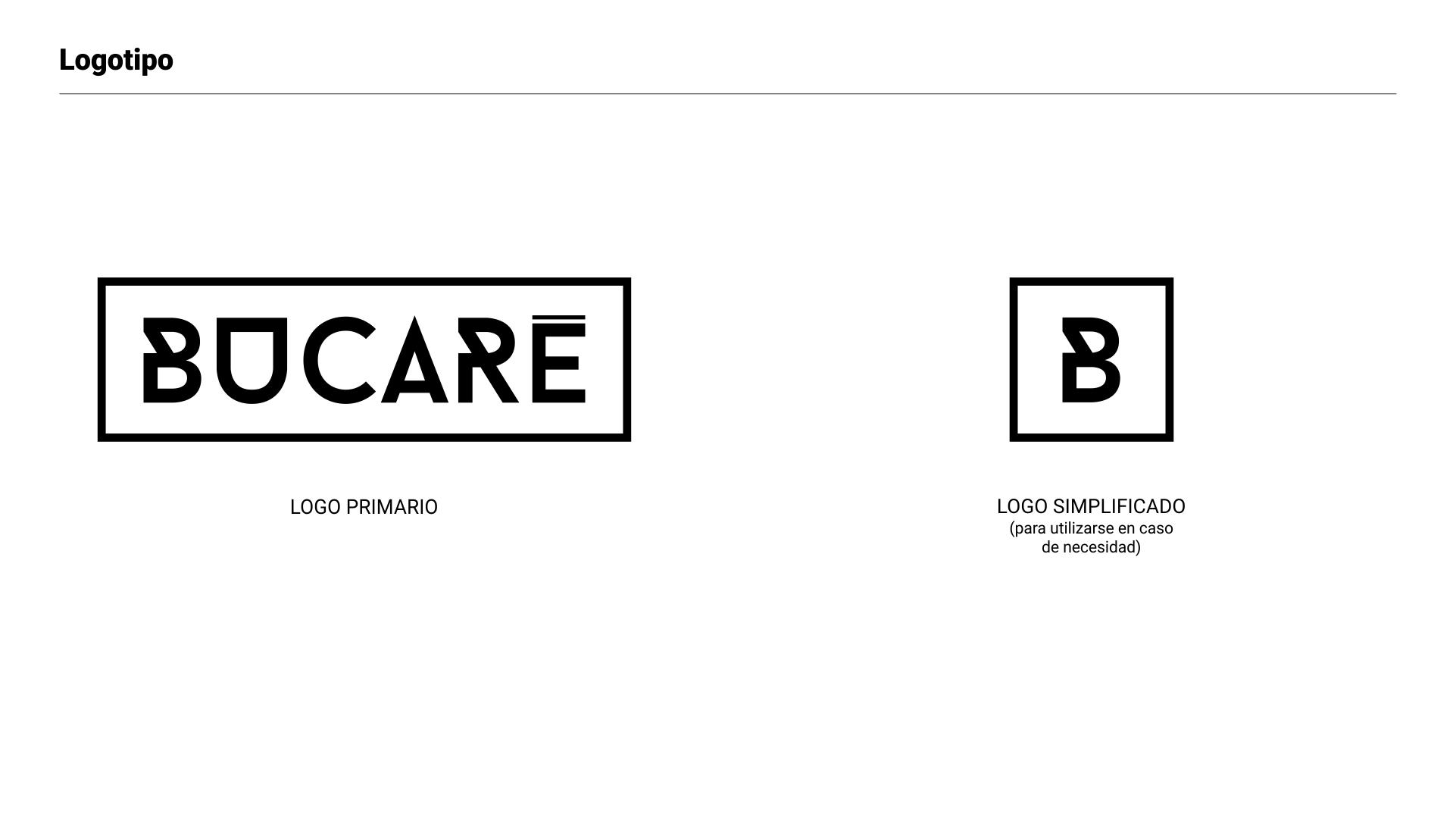 Branding Bucaré - logo