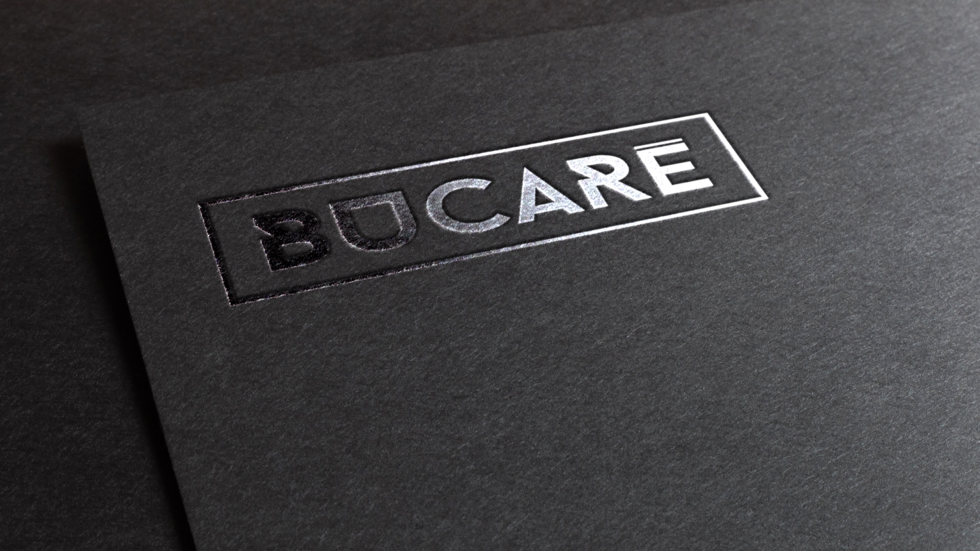Branding Bucaré - aplicación en carpeta